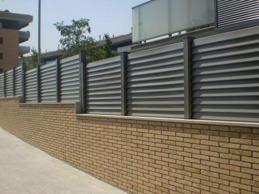 valla aluminio lama fija horizontal 06
