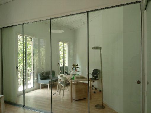 correderas acristaladas vidrio laminar