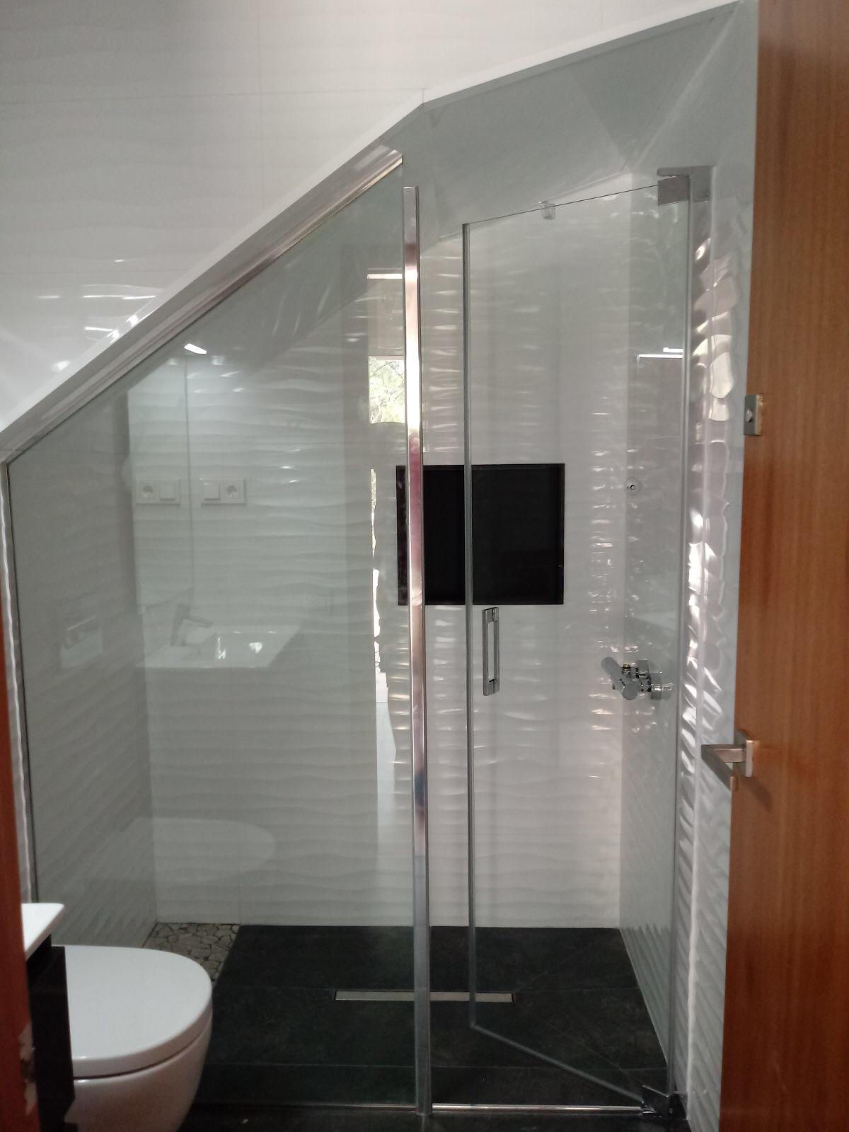 Mampara ducha ventanas y puertas de aluminio o pvc - Mamparas de pvc ...
